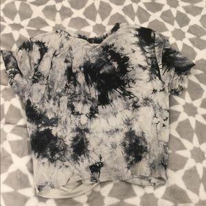 Tye dye crop